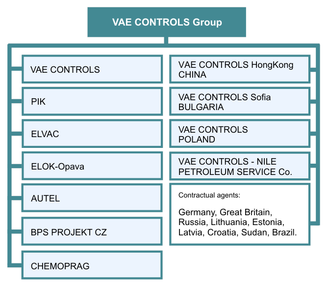 VAE CONTROLS Group SCHEME 2015